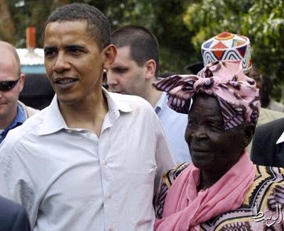 أوباما في ضيافة الجدة سارة