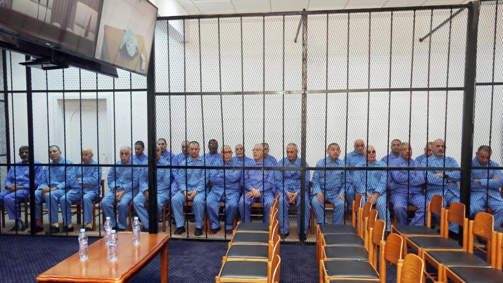 الحكم على سيف الاسلام القذافي و اخرون بالإعدام
