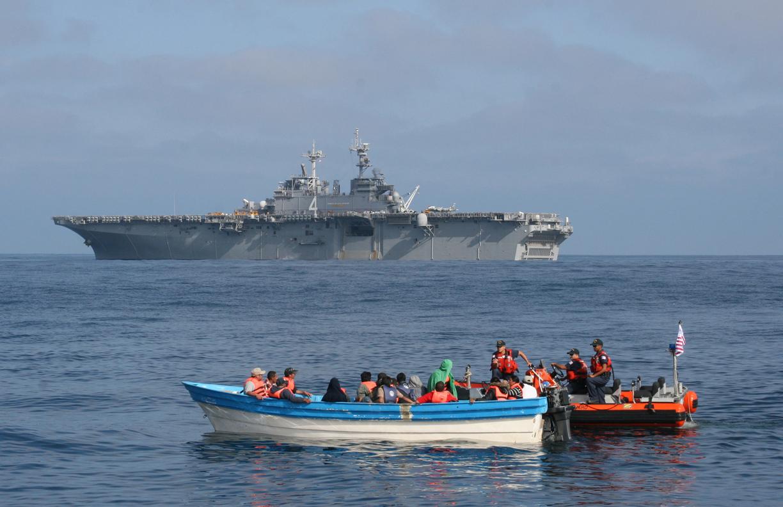 الهجرة غير الشرعية و جهود حرس السواحل الايطالي للانقاذ