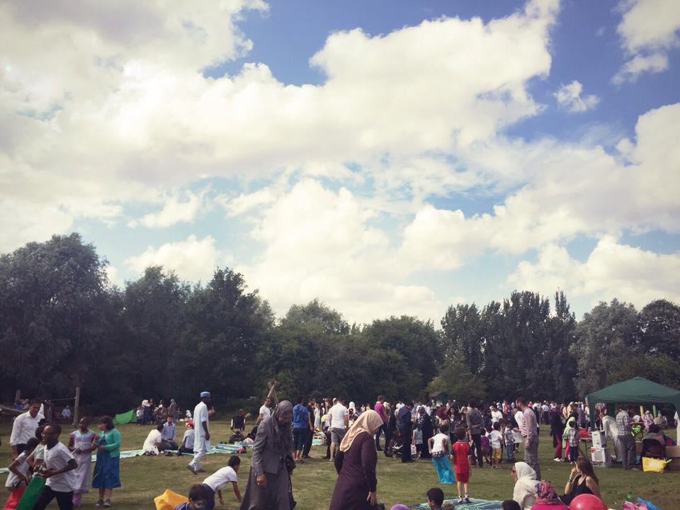 عيد الفطر في المملكة المتحدة