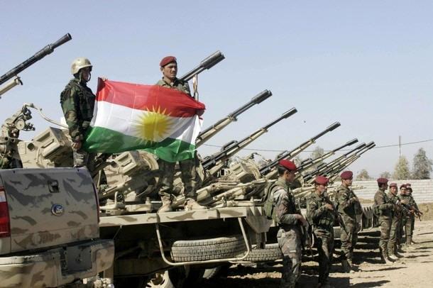 قوات البشمركة تنتزع بلدة صرين من مقاتلي تنظيم الدولة