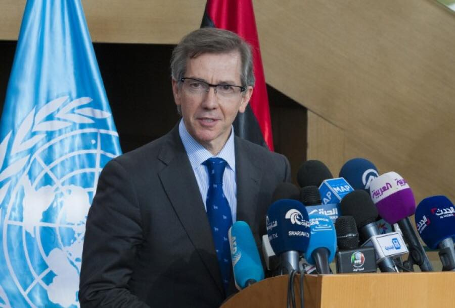 المبعوث الأممي إلى ليبيا برناردينو ليون يؤكد أن باب لا يزال مفتوحا