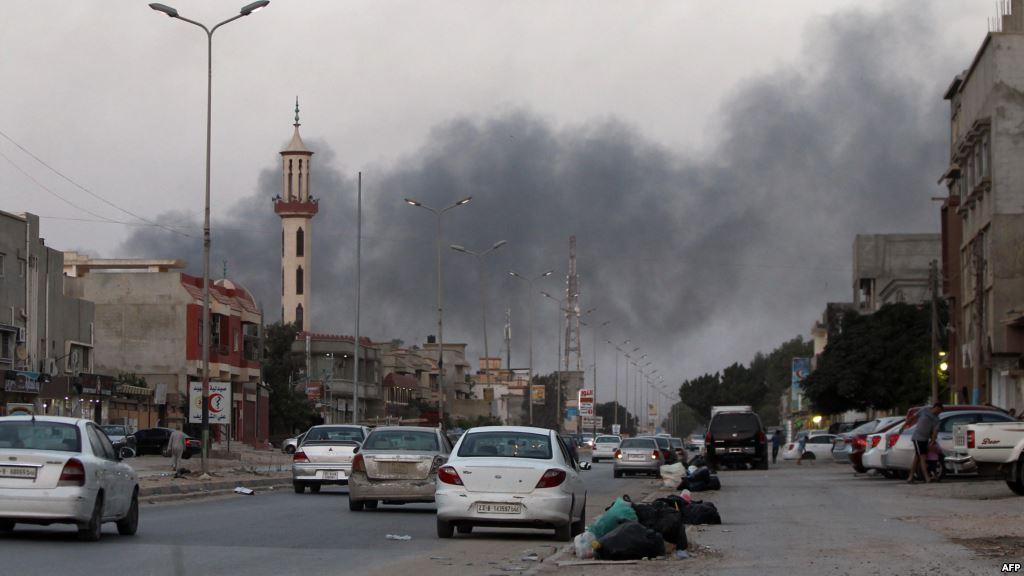 هجوم لمليشيات فجر ليبيا على ترهونة