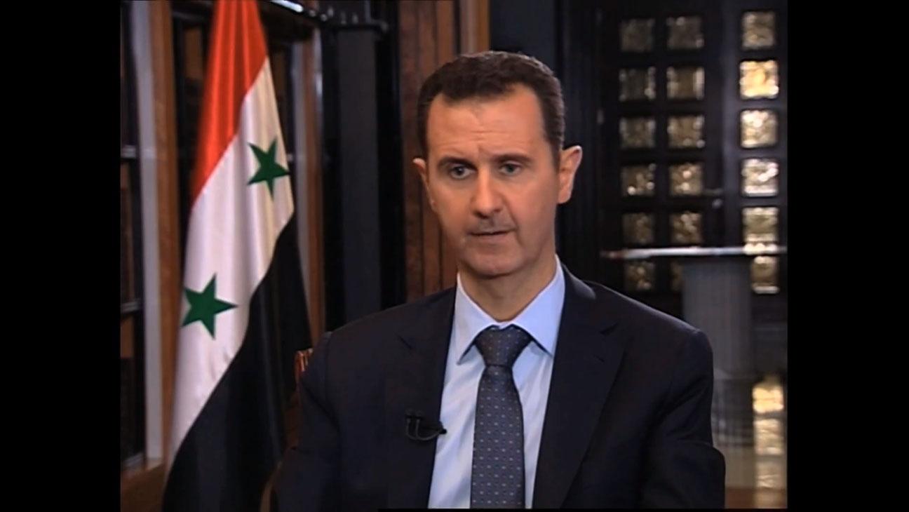 الأسد يؤكد إستمرار دعم حلفائه روسيا وايران
