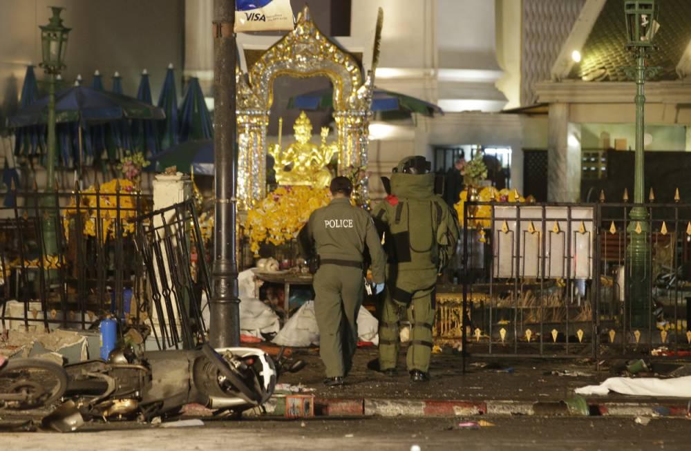 انفجار قنبلة في العاصمة التايلندية بانكوك
