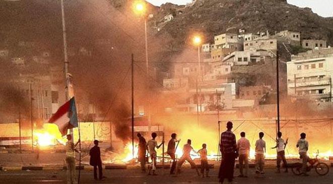 انفجار يهز مقر المخابرات في عدن اليمنية