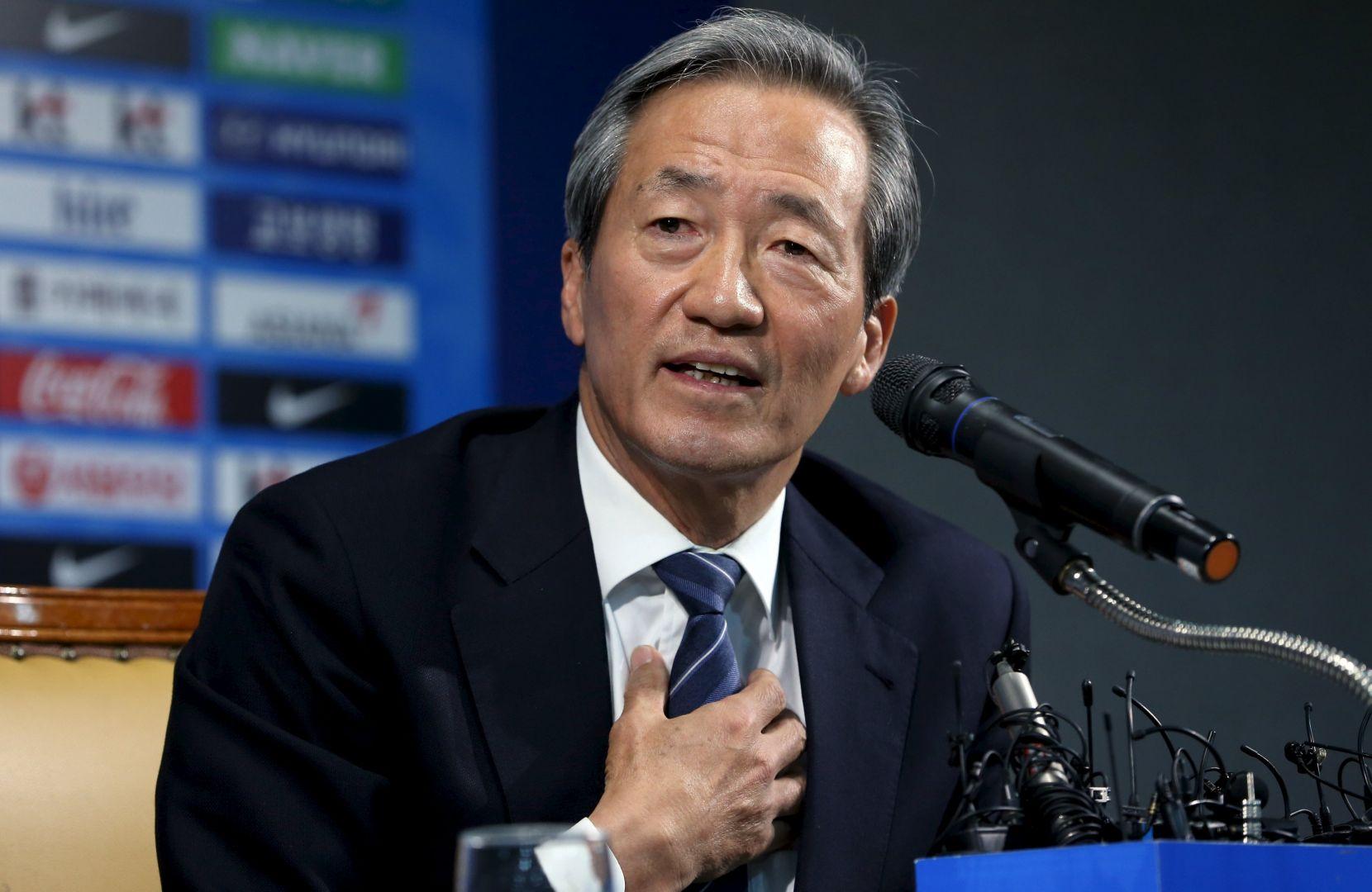 تشونغ مونغ-جونا يعلن ترشحه لرئاسة الفيفا