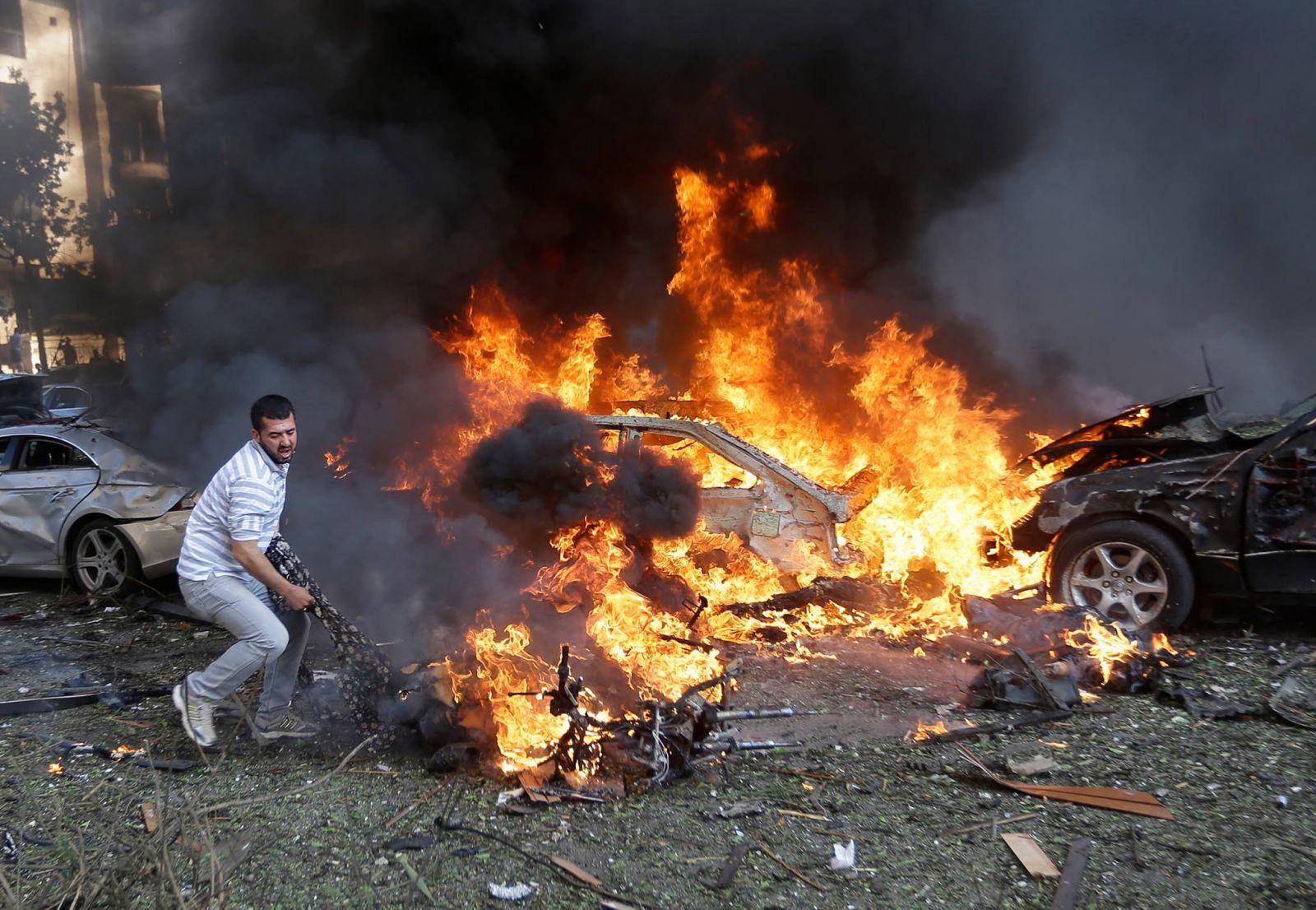 تفجير شاحنة ملغومة في بغداد