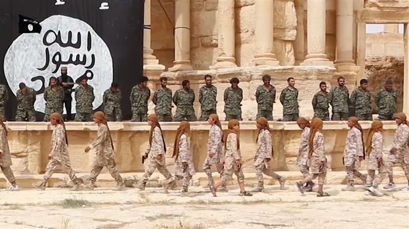 داعش على ركح تدمر