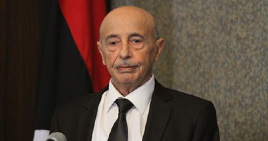 رئيس البرلمان الليبي يُعلق عضويته اعتراضًا على تعيين وزير الدفاع