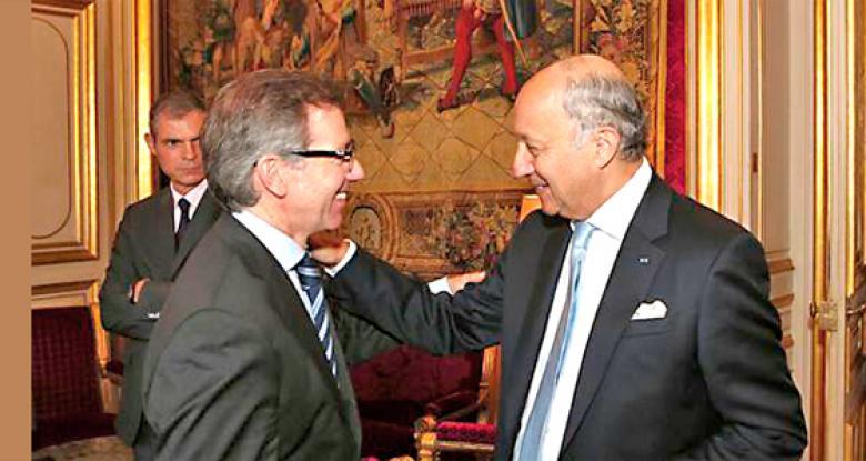 فابيوس وليون التوصل إلى حل سياسي في ليبيا  بات أمرا ضروريا وملحا