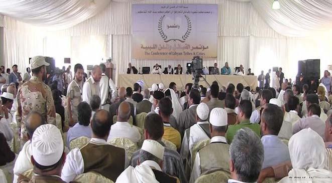 مؤتمر للقبائل الليبية أواخر سبتمبر