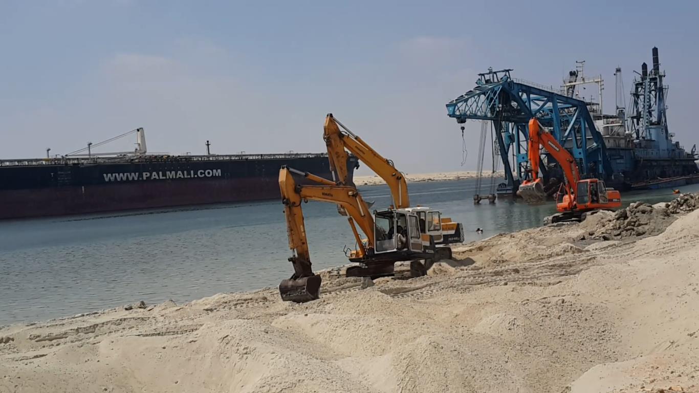 مصر تستعد الخميس لافتتاح مشروع قناة السويس الجديدة