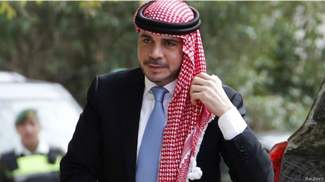 الأمير علي بن الحسين مع جديد في سباق الفيفا