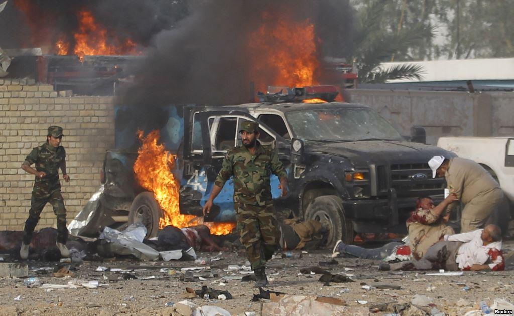 ثلاثة انفجارات تهز وسط العاصمة العراقية بغداد