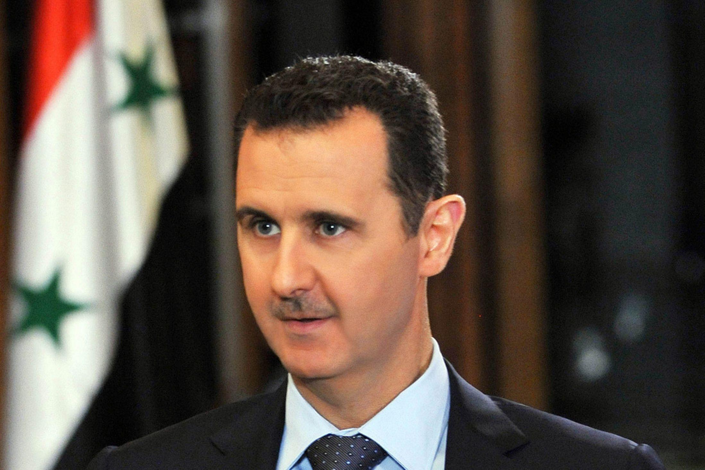 الأسد يُعول على نجاح الحملة الروسية ضد تنظيم داعش