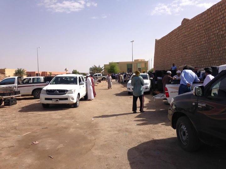 سوق التمر بمدينة سوكنة في ليبيا حراك اقتصادي واجتماعي مميز 6