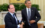 أوباما وهولاند في لقاء على هامش قمة الأمن النووي التي تستضيفها واشنطن