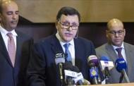 السراج يتعهد برفع المعاناة عن الشعب الليبي  وحفظ السيادة الوطنية