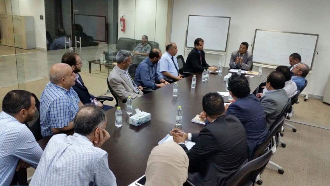 الشائبي يترأس فريقاَ لتوحيد إدارات المؤسسة الليبية للاستثمار ويصدرا بياناً بالجهود الرامية 1