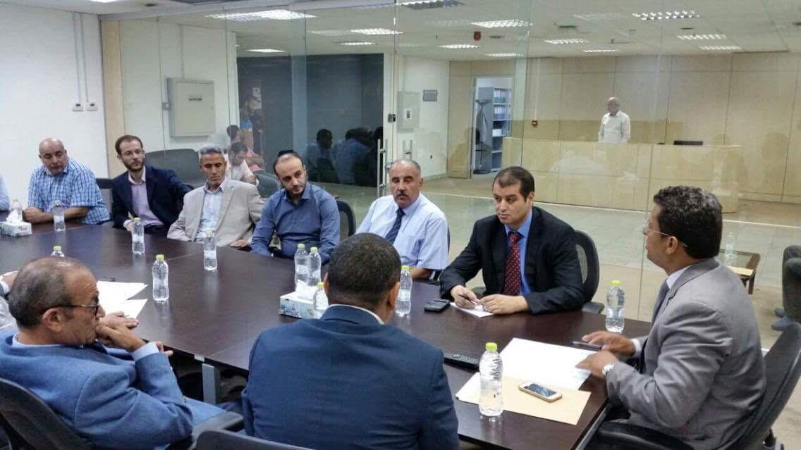 الشائبي يترأس فريقاَ لتوحيد إدارات المؤسسة الليبية للاستثمار ويصدرا بياناً بالجهود الرامية 2