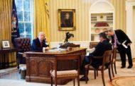 ترامب والعاهل السعودي اتفاقا على دعم إقامة مناطق آمنة بسوريا واليمن في إتصال هاتفي