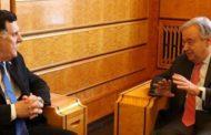 السراج يطالب ببعثة أممية لدعم الاستقرار في ليبيا