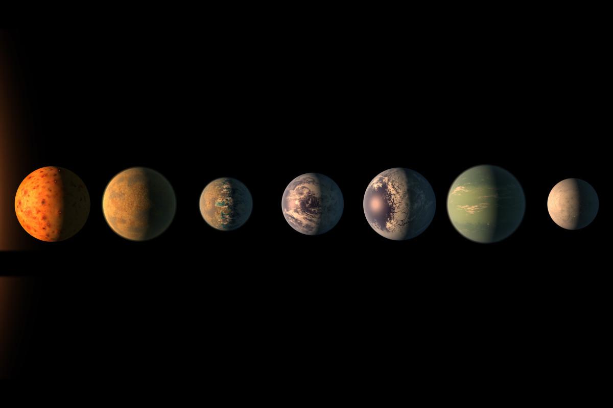 فلكيون في وكالة ناسا يرصدون سبعة كواكب بحجم الأرض يمكن الحياة عليها