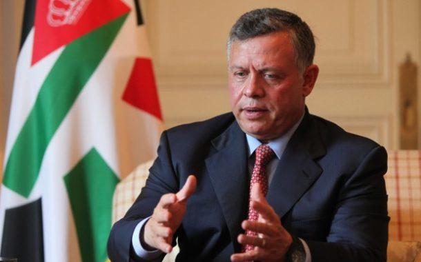 العاهل الأردني يؤكد لممثل ترامب ان حل الدولتين هو الحل الوحيد لانهاء النزاع