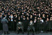 اليهود المتدينين يتظاهرون في القدس احتجاجا على الخدمة العسكرية الاجبارية
