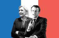 بدء المبارزة في انتخابات الرئاسة الفرنسية بين ماكرون ولوبن