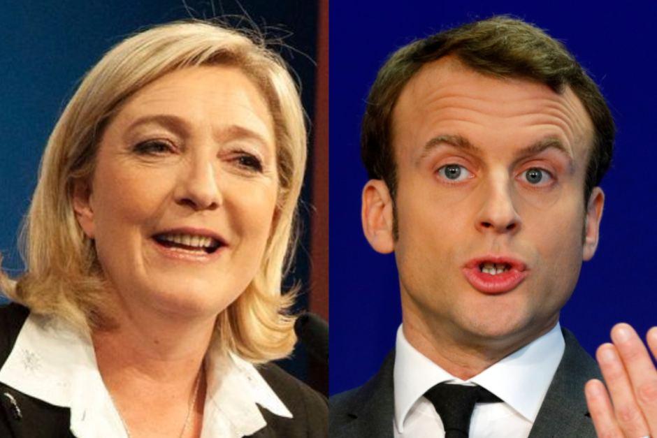 ماكرون ولوبن يتواجهان في باريس قبل الشوط الأخير ضمن انتخابات الرئاسة الفرنسية