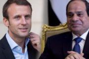 في أول أتصال هاتفي السيسي وماكرون يبحثان الأزمة الليبية وملف الطائرة المصرية المنكوبة