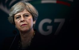 ماي تعلن خفض درجة التحذير الامني في بريطانيا من حرجة الى خطرة