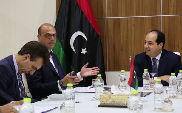 أنجيلينو ألفانو يؤكد أن الشراكة الايطالية-الليبية لا تقتصر على السياسة والأمن بل الإقتصاد أيضا