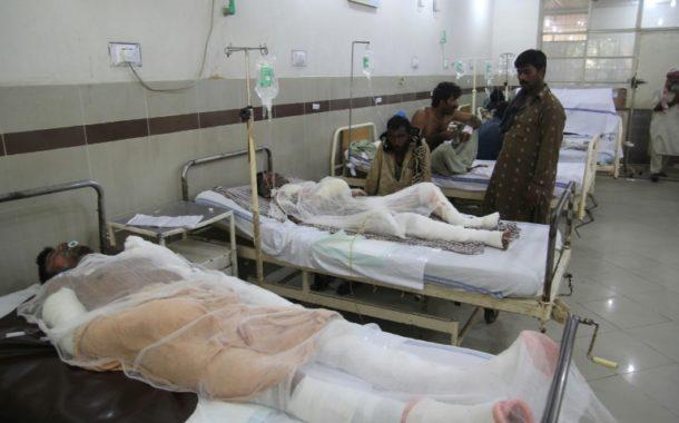 ارتفاع حصيلة حريق الصهريج في باكستان الى 153 قتيلا