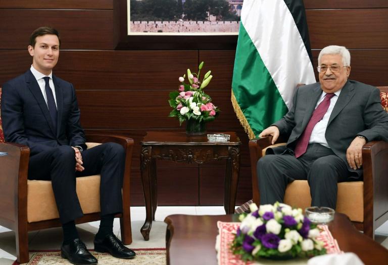 لقاء وصف بالمثمر بين نتانياهو و جاريد كوشنر صهر الرئيس الاميركي دونالد ترامب وكبير مستشاريه في القدس1