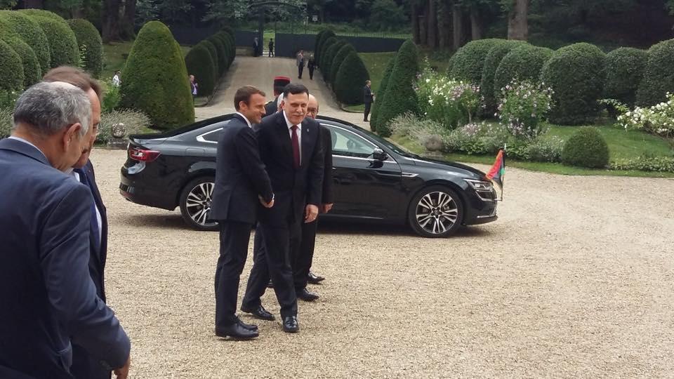 هل سيصلح لقاء ماكرون بقطبي الصراع الليبي السراج و حفتر في باريس ما افسده ساركوزي عام 20111