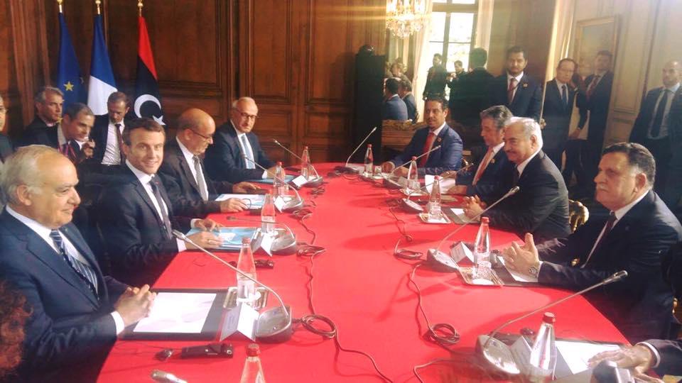هل سيصلح لقاء ماكرون بقطبي الصراع الليبي السراج و حفتر في باريس ما افسده ساركوزي عام 20113