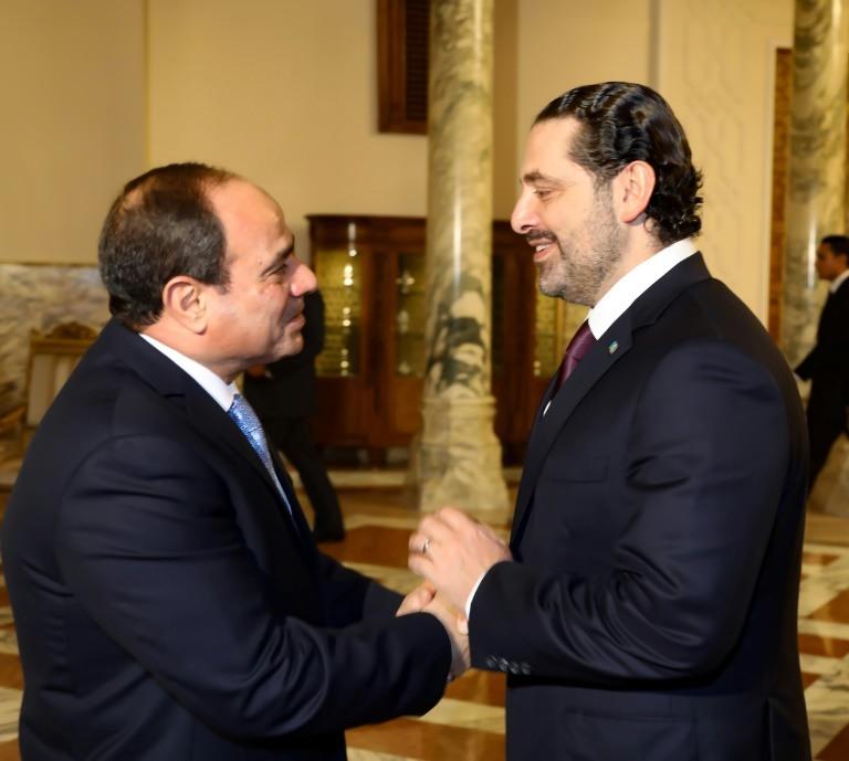 الحريري في بيروت بعد ثلاثة أسابيع من استقالته المفاجئة في الرياض1