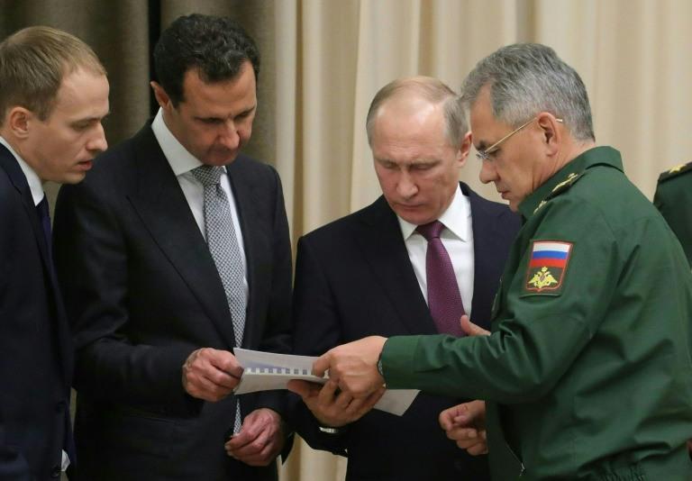لقاء بين بوتين والاسد في سوتشي قبل قمة روسية-تركية-ايرانية1