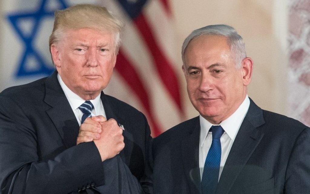 ترامب يعلن يوم الأربعاء الاعتراف بالقدس عاصمة لاسرائيل1