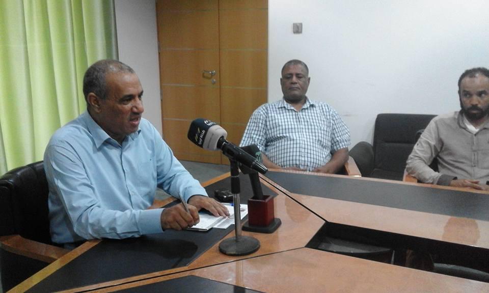 بلدية الجفرة في ليبيا  اجتماعات و حلول ناجعة لمشاكل المياه والصرف الصحي